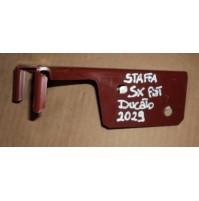 2029 - STAFFA SUPPORTO PARAURTI -  SINISTRO SX FIAT ducato