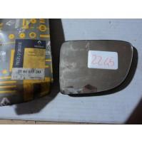 2245 - SPECCHIETTO VETRO SPECCHIO ESTERNO -  7701035283 RENAULT CLIO SINISTRO SX