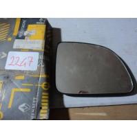 2247 - SPECCHIETTO VETRO SPECCHIO ESTERNO - 7701034845 RENAULT CLIO