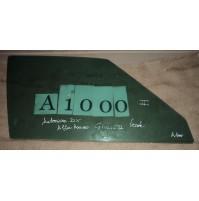 A1000 - VETRO SCENDENTE ANTERIORE DESTRO ALFA ROMEO GIULIETTA VERDE