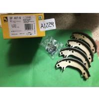 A1229 - RHIAG GF407.10 - KIT GANASCE POSTERIORI CITROEN AX SAXO PEUGEOT 106 205
