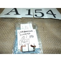 A154 - COPPIA CARBONICINI DINAMO VOLKSWAGEN MAGGIOLONE MAGGIOLINO T1 T2