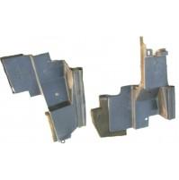 A2 - 4R838102BB -  SUPPORTI IN PLASTICA RADIATORE - JAGUAR S-TYPE XJ XF 2.7 D