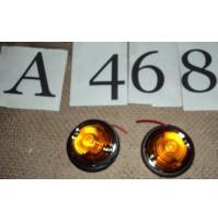 A468 - FANALINI ARANCIONI UNIVERSALI FRECCE VOLKSWAGEN MAGGIOLINO MAGGIOLONE T1