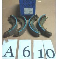 A610 - BENDIX 362367B - KIT SET GANASCE FRENI - FIAT DUCATO MASTER TRAFIC