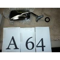 A64 - SPECCHIETTO ESTERNO CROMATO DESTRO MAGGIOLINO MAGGIOLONE VOLKSWAGEN