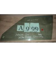 A999 - VETRO SCENDENTE ANTERIORE SINISTRO ALFA ROMEO GIULIETTA VERDE ORIGINALE