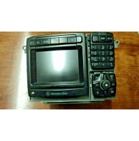 B23 -- ORIGINALE MERCEDES A2208203789 COMAND RADIO NAV W215 CL W220 S