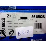 B313 - BENDIX 561592B - COPPIA DISCHI FRENO ANTERIORI RENAULT LAGUNA MEGANE