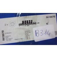 B314 - BENDIX 561967B - COPPIA DISCHI FRENO ANTERIORI EVASION 807 ZETA ULYSSE