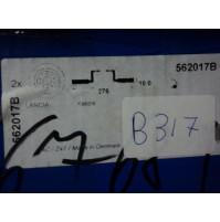 B317 - BENDIX 562017B - COPPIA DISCHI FRENO POSTERIORI LANCIA KAPPA
