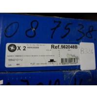 B324 - BENDIX 562048B - COPPIA DISCHI FRENO MERCEDES CLASSE A 1684210112