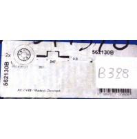B328 - BENDIX 562130B - COPPIA DISCHI FRENO POSTERIORE PEUGEOT 307