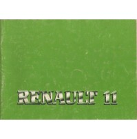 B406AG - LIBRETTO USO E MANUTENZIONE RENAULT 11