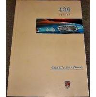 B406AN - LIBRETTO USO E MANUTENZIONE ISTRUZIONI ROVER 400 - ITALIANO