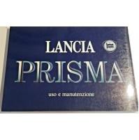 B406T - LIBRETTO USO E MANUTENZIONE LANCIA PRISMA