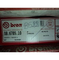 B522 - BREMBO 08.6785.10 COPPIA DISCHI FRENO ANTERIORI SEAT VW GOLF 3 6N0615301