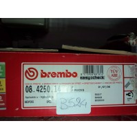 B524 - BREMBO 08.4250.14 COPPIA DISCHI FRENO ANTERIORI OPEL CORSA A KADETT D