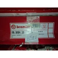 B527 - BREMBO 08.9084.10 COPPIA DISCHI FRENO POSTERIORI AUDI A6 A4