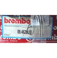 B536 - BREMBO 09.4626.10 COPPIA DISCHI FRENO ANTERIORI RENAULT VOLVO 240 260