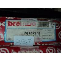 B547 - BREMBO 09.5033.10 COPPIA DISCHI FRENO ANTERIORI AUDI 100 200