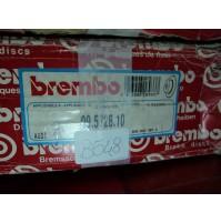 B548 - BREMBO 09.5728.10 COPPIA DISCHI FRENO ANTERIORI AUDI 80