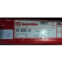B556 - COPPIA DISCHI FRENO BREMBO 09.8690.10 ANTERIORE AUDI SKODA VW A4 GOLF