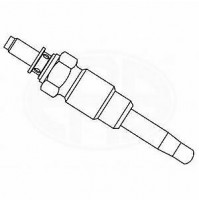 B703 - CANDELETTA ACCENSIONE BERU 0100226163 GV852 ALFA ROMEO 145 146 155