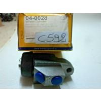 C592 - CILINDRETTO FRENI POSTERIORE 04-0028 INNOCENTI ROVER RELIANT 37H2016 MINI