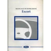 C91 - Libretto Uso e Manutenzione Auto Ford Escort 03 1997