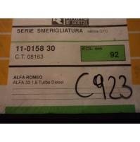 C923 - RHIAG 11-0158-30 - GUARNIZIONI SMERIGLIO ALFA 33 1.8 TD  Ø92mm