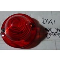 D141 - 0203300 PLASTICA ROSSO ANTERIORE FRECCIA CITROEN 2CV MEHARI