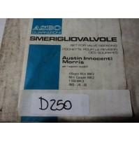 D250 - KIT SERIE GUARNIZIONI SMERIGLIO MOTORE MINI COOPER MK2 ALLEGRO IM3 J4 J5