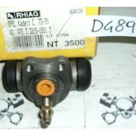 D489 - RHIAG NT3500 - 03.3215-1501.3 - CILINDRETTO FRENI - OPEL KADETT C 73 -79