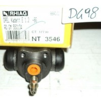 D498 - RHIAG NT3546 - 550134 - CILINDRETTO FRENI - OPEL KADETT E 1.2
