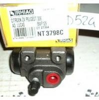 D524 - RHIAG NT3698C - BWF129 - CILINDRETTO FRENI - CITROEN ZX PEUGEOT 306