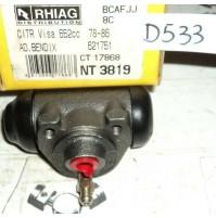 D533 - RHIAG NT3819 - 621751 - CILINDRETTO FRENI - CITROEN VISA