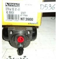 D536 - RHIAG NT3900 - 621877 - CILINDRETTO FRENI - CITROEN AX 10E 87 - 91