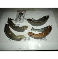 D563 - GF657.10 - KIT SERIE GANASCE FRENO - MERCEDES A140 A160 A170 A190