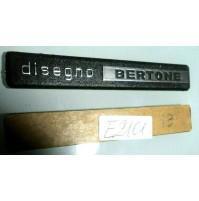 E2161 - DISEGNO BERTONE SCRITTA LOGO EMBLEM FREGIO Lamborghini Ferrari Dino