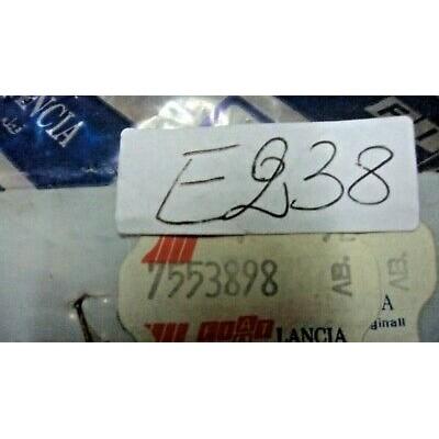 E238 -- 7553898 DISTANZIALE BASETTA FLANGIA CARBURATORE FIAT 126 BIS-1