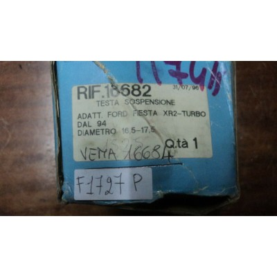 F1727P -- TESTINA STERZO SOSPENSIONE FORD FIESTA XR2 TURBO 16682-0
