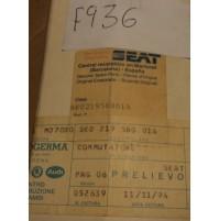 F936 - BLOCCA STERZO ORIGINALE SEAT SE021956001A SEAT IBIZA