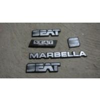 M2539 XX - STOCK LOGO SCRITTA EMBLEM BADGE STEMMA SEAT MARBELLA