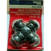 M713 XX - DRIVE COUPLING KIT GIUNTO GCD101 MINI MINOR COOPER 1100 1300 ORIGINALE