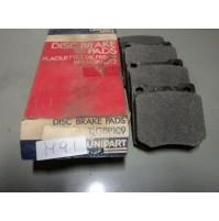M91 XX - KIT SERIE SET PASTICCHE PATTINI PASTIGLIE FRENI GBP109 TRIUMPH MAXI